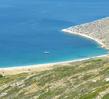 Santorini ocean: Greek Islands heaven 1 by SlavicaB