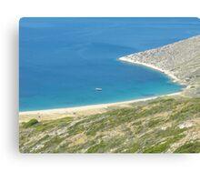 Santorini ocean: Greek Islands heaven 1 Canvas Print