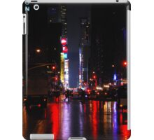 Manhattan at night iPad Case/Skin