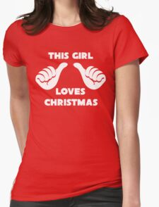 This Girl Loves Christmas Shirt Red T-Shirt