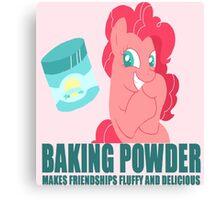Pinkie Pie Baking Powder Canvas Print