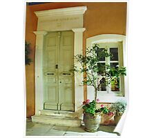 Athens house: Greece Poster