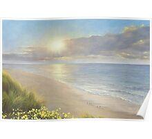 BEACH SERENITY by Diane Romanello Poster