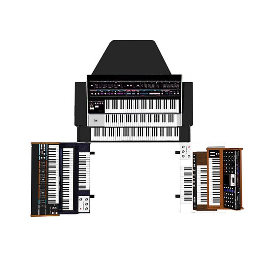 Vintage Synthesizers / Keyboards by bradyarnold