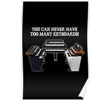 Too Many Keyboards! Poster