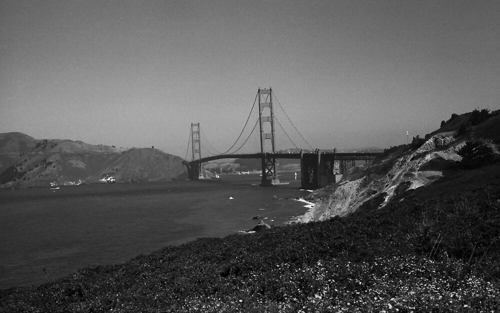 San Francisco - Golden Gate Bridge by Frank Romeo