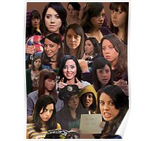 April Ludgate Tile Poster