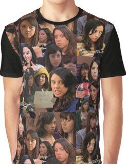 April Ludgate Tile Graphic T-Shirt