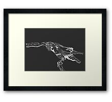 Good Day! Raven Framed Print