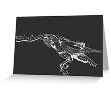 Good Day! Raven Greeting Card