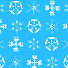 Filmmakers&#x27; Snowflakes by Rechenmacher