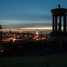 Edinburgh City Night by Lorne Cooper