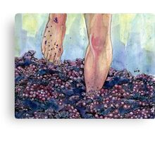Grape Stomp Canvas Print