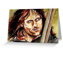 Viggo Mortensen, King Aragorn Greeting Card