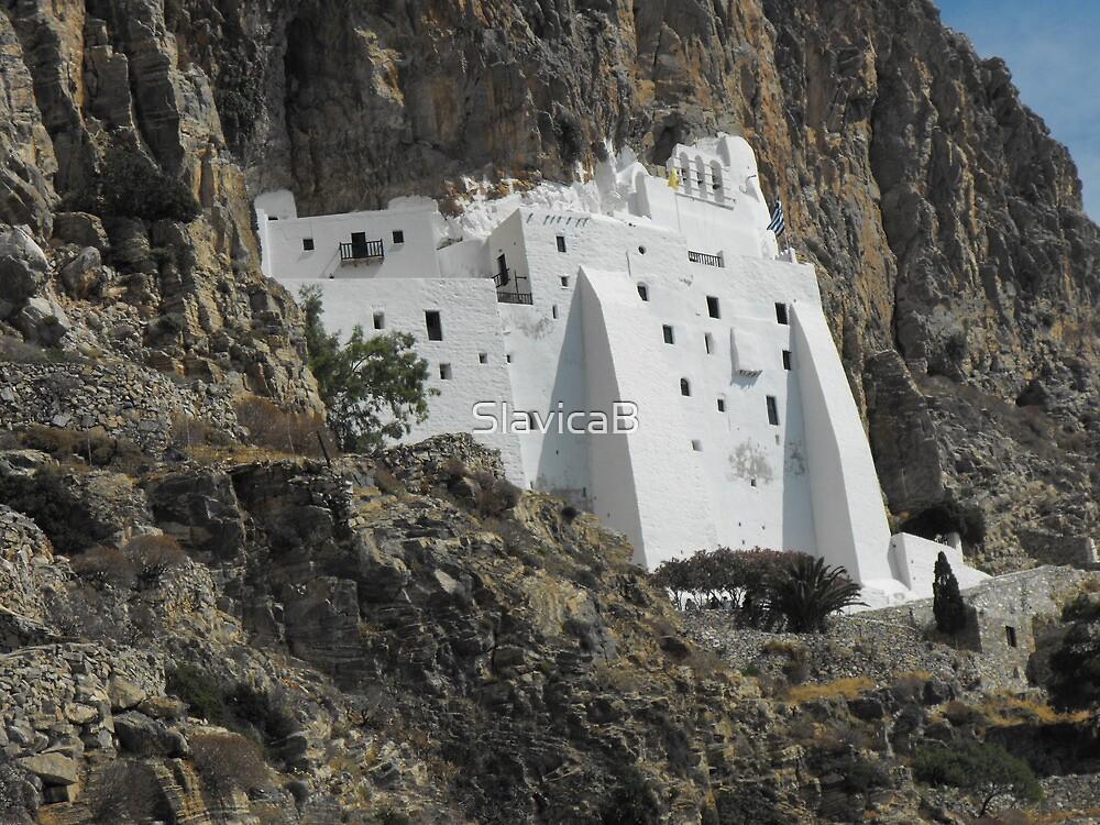 Greece: Amorgos Monastery 2 by SlavicaB