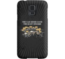 Too Many Drums! Samsung Galaxy Case/Skin
