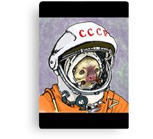 Cosmonaut Sloth Canvas Print
