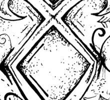 Angelic Rune Mandala Sticker