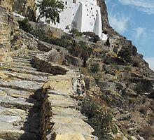 Greece: Amorgos Monastery 4 by SlavicaB