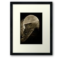 Isle of May Tunnel Framed Print