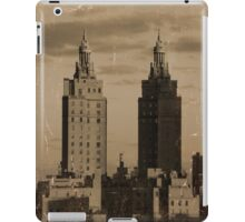 Manhattan building iPad Case/Skin