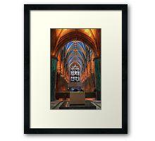St Giles interior 2 Framed Print