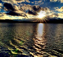 Sunset at Lake Windermere by Steve