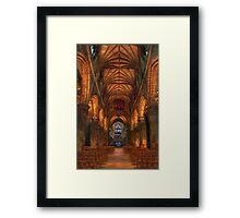 St Giles interior 1 Framed Print