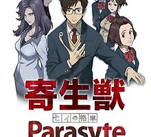 parasyte anime design  by tylerlions777
