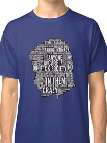 Mr Robot Quotes Classic T-Shirt