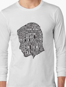 Mr Robot Quotes Long Sleeve T-Shirt