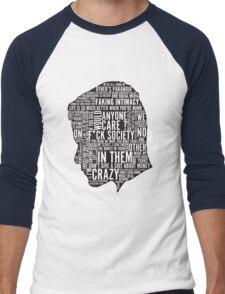 Mr Robot Quotes Men's Baseball ¾ T-Shirt