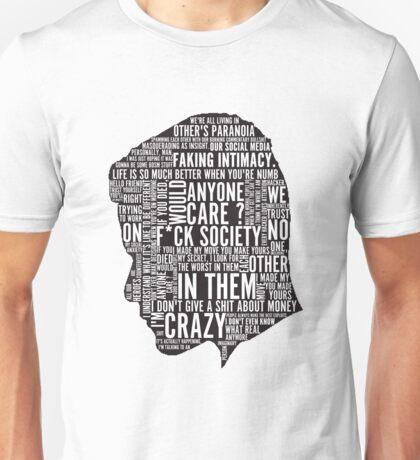 Mr Robot Quotes Unisex T-Shirt