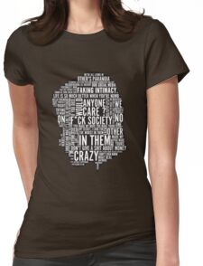 Mr Robot Quotes Womens Fitted T-Shirt