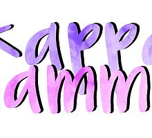 Kappa Gamma by sophhsophh
