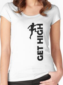 Get High Women's Fitted Scoop T-Shirt