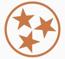 tristar - orange by Chaney Swiney