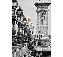 Paris pompous Photographic Print
