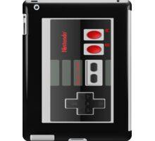 NES CRYSTAL-IZED CONTROL BLACK CLASSIC NINTENDO  iPad Case/Skin