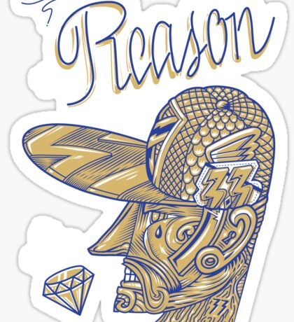 lost reason Sticker