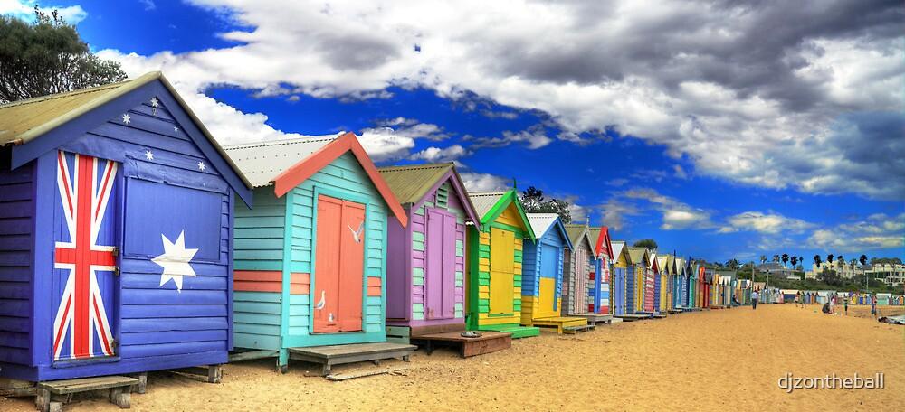 Brighton Beach Boxes by djzontheball