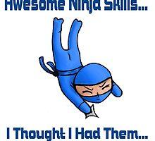 Awesome Ninja Skills (white) by Epopp300