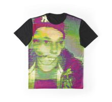 Distorted View Graphic T-Shirt