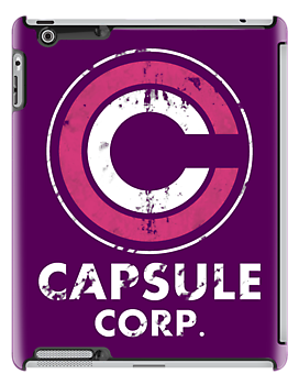 Capsule corp vintage version ( pink and white) by karlangas