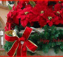 Happy Holidays by Judi Honiker