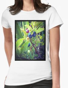 Blueberry Surprise Womens Fitted T-Shirt
