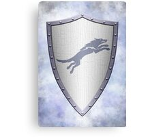 Stark Shield - Clean Version Canvas Print