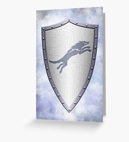 Stark Shield - Clean Version Greeting Card