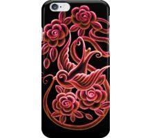ROSE & SWALLOW iPhone Case/Skin
