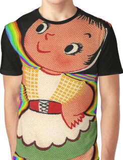 Dancing In Colours Graphic T-Shirt